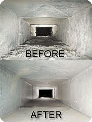Before-After-Duct Air Duct Cleaning